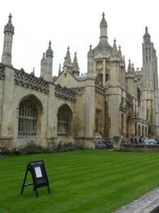 Кембридж. Достопримечательности. Кингс Колледж