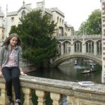 Мостик поцелуев в Кембридже