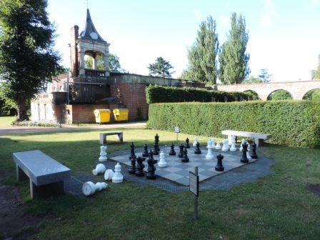 Chessboard in Holland Park