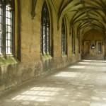 Галерея в готическом стиле в колледже Св. Джона