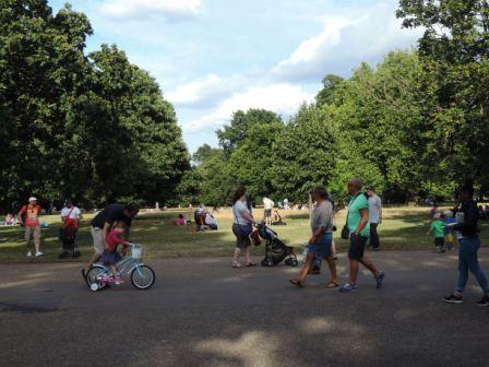 Сады и парки Лондона. Гайд парк.