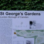 Карта садов St. George's Gardens (London)