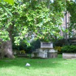 Сад Св. Георгия в Лондоне - очень тихое место