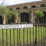 Улица в Кембридже