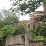 Вид на колледж с реки Кем