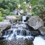 Водопад в Киото гаденс