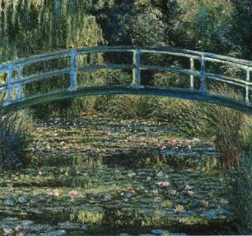"Claude Monet ""The Water Lily Pond"""