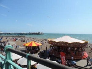 Brighton Beach (описание фотографии на английском языке)