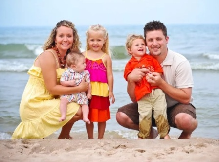 Английский язык для начинающих. Описание фотографии семьи