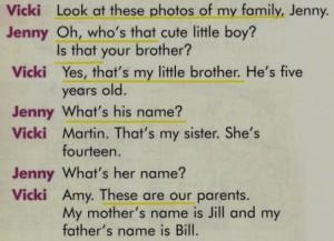 описание фотографии семьи для начинающих
