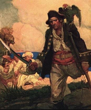 A pirate. Текст. Описание внешности пирата на английском языке