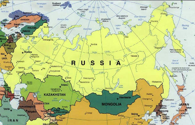 Russia's Map