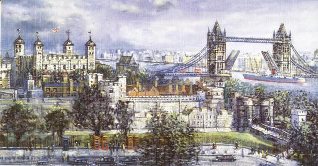 Places of Interest in London . The Tower of London and Tower Bridge