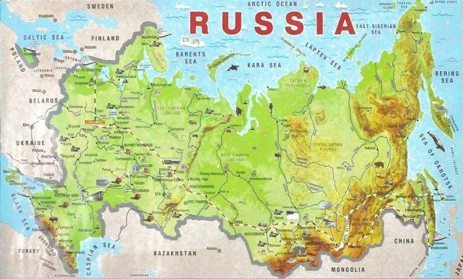 Russia на английском языке