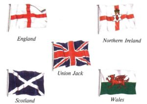 The history of the British flag